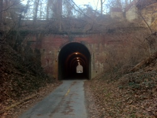Dalecarlia Tunnel, built in 1910