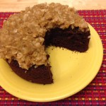 German Chocolate Kefir Cake