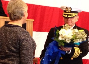 Capt. Jernigan and His Wife, Carol